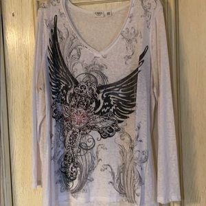 cato long sleeved t-shirt